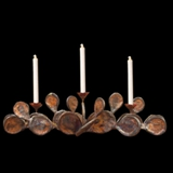 11 Candlelabra With Taper Or Votive Candles