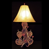2Prickly Pear Cactus Lamp